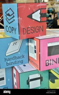 Print Shop Stock Photos & Print Shop Stock Images