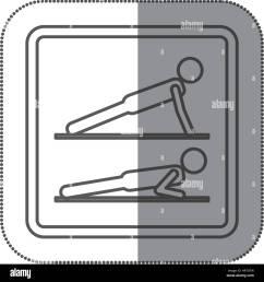 figure person doing planks icon [ 1300 x 1390 Pixel ]