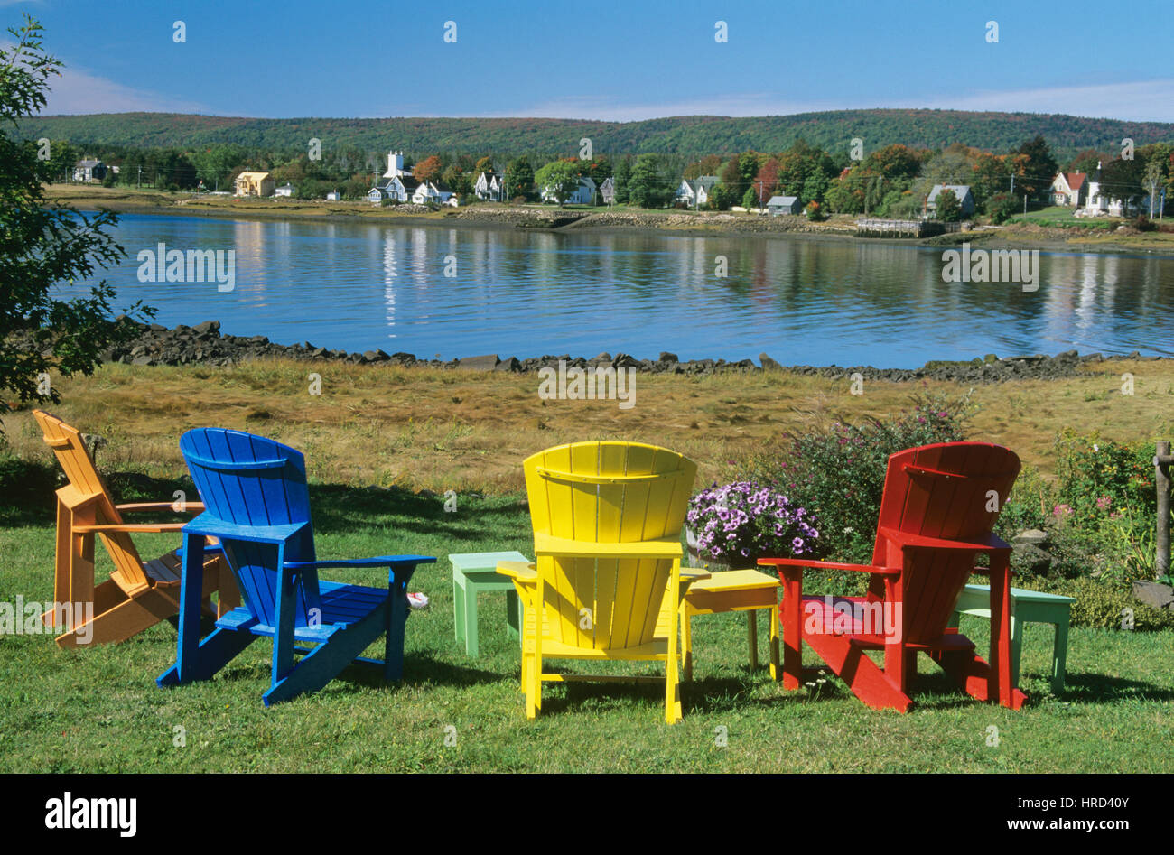 new river adirondack chairs steel chair keychain annapolis valley stock photos and