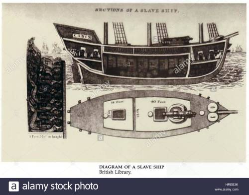 small resolution of diagram of a slave ship