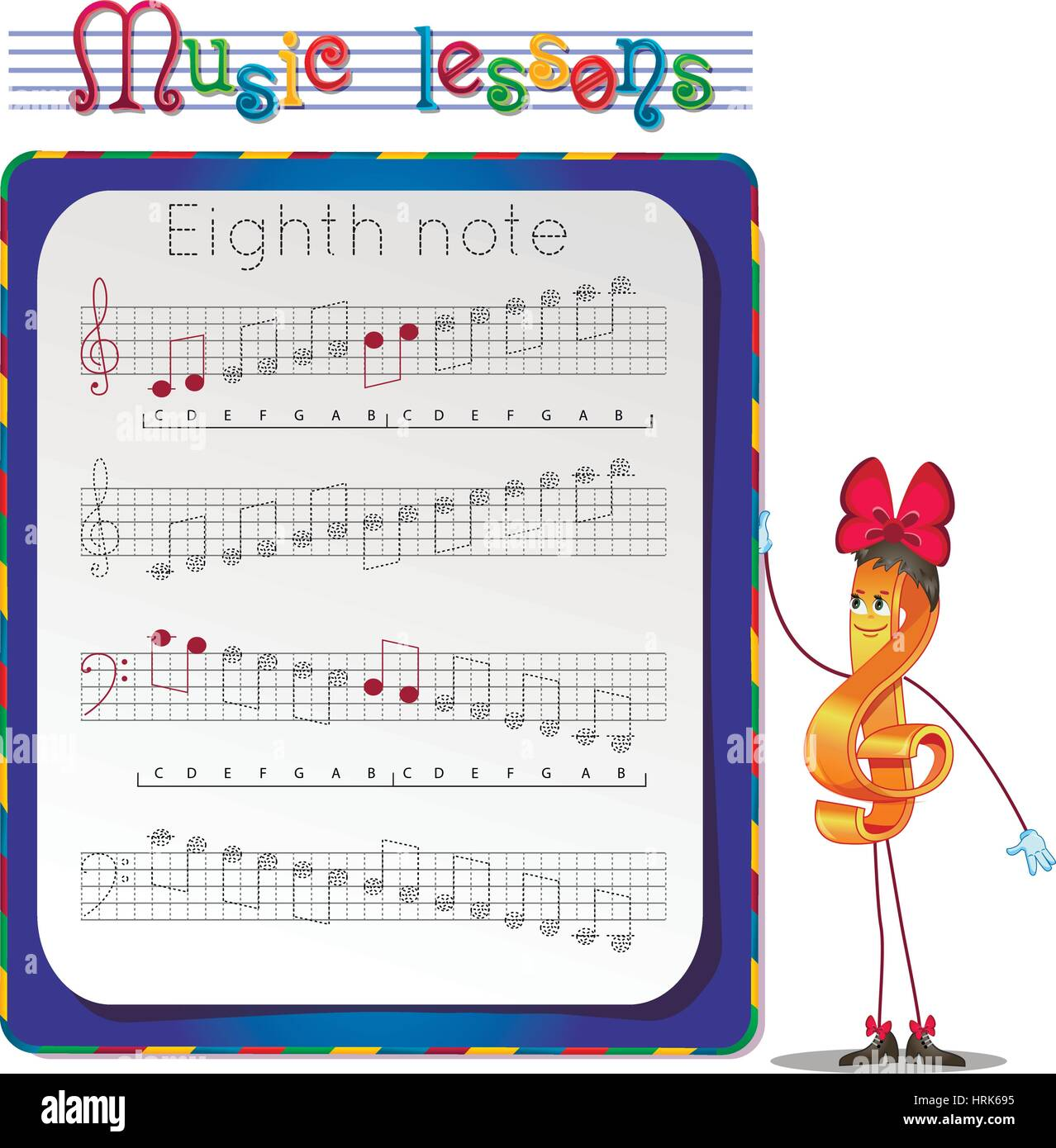 Eighth Note Stock Photos Amp Eighth Note Stock Images