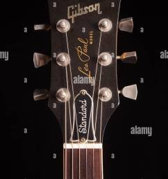 1979 gibson les paul standard electric guitar stock image [ 866 x 1390 Pixel ]