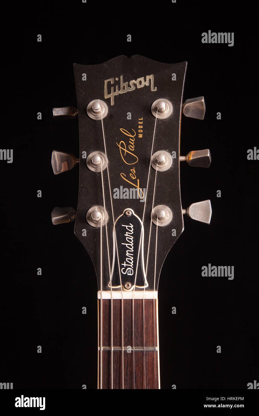 medium resolution of 1979 gibson les paul standard electric guitar stock image