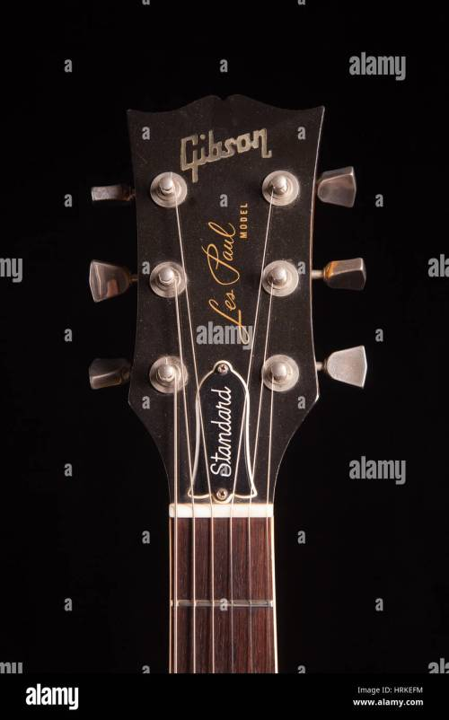 small resolution of 1979 gibson les paul standard electric guitar stock image