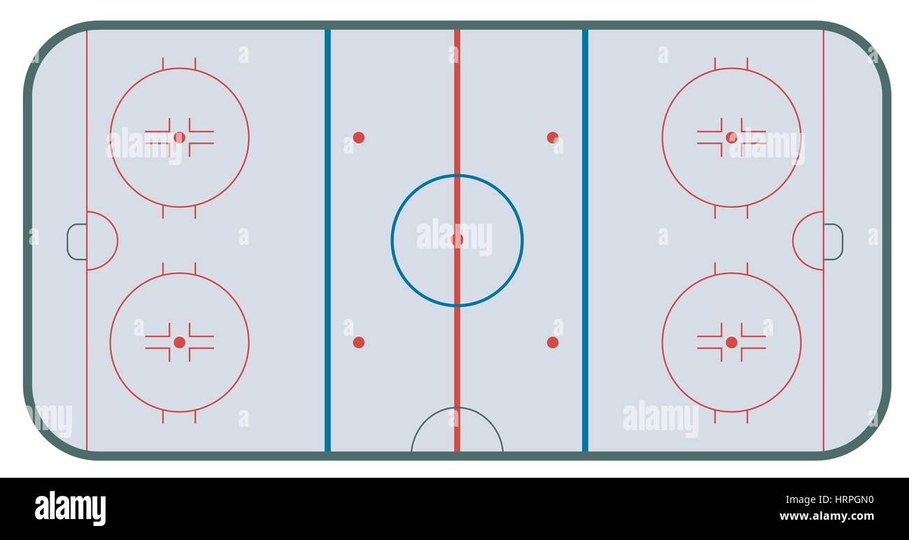 hight resolution of ice hockey rink