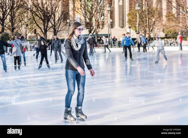 Figure Skating Art Stock &