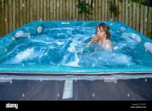 Outdoor Hot Tub Stock &