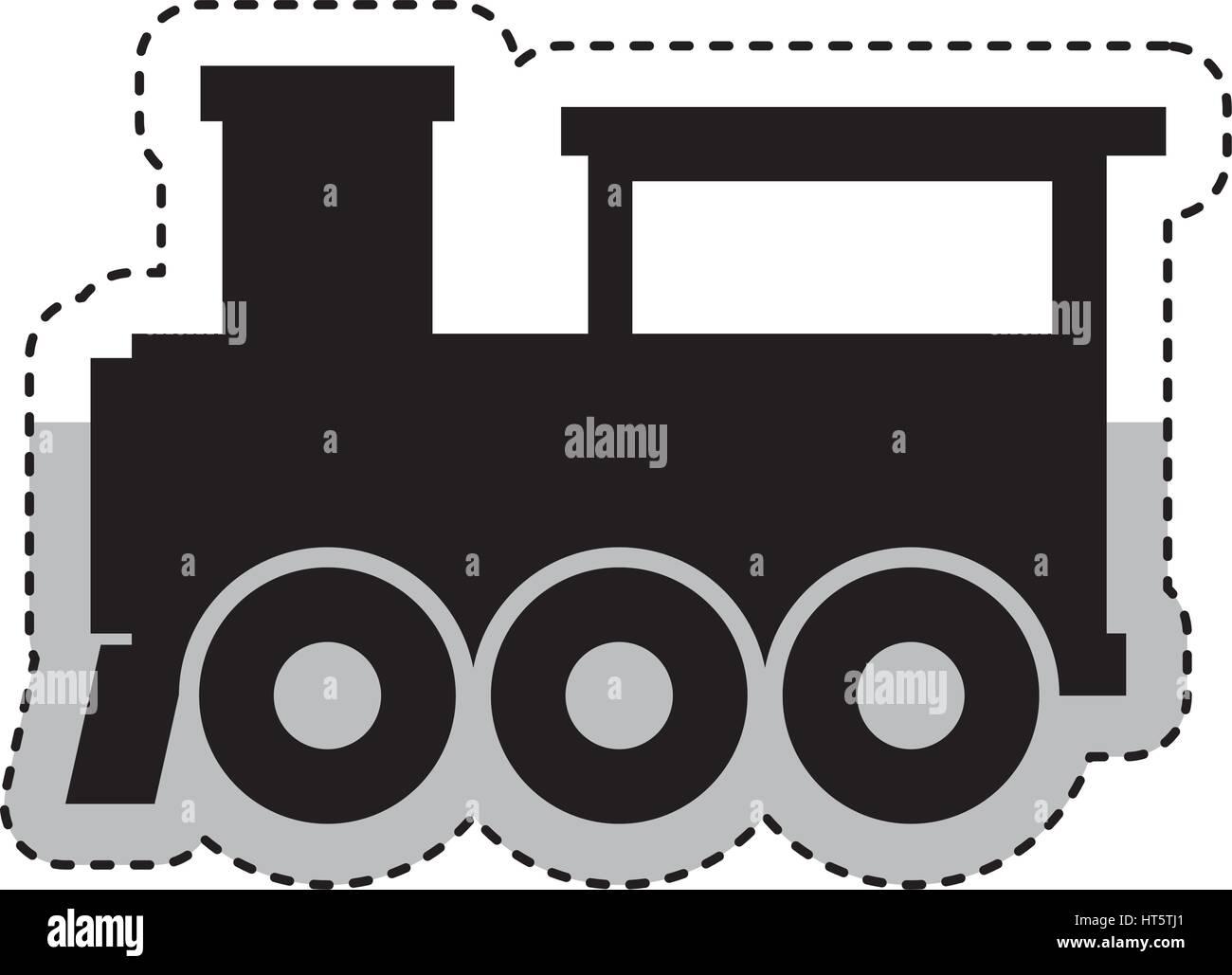 hight resolution of steam train silhouette isolated icon stock image