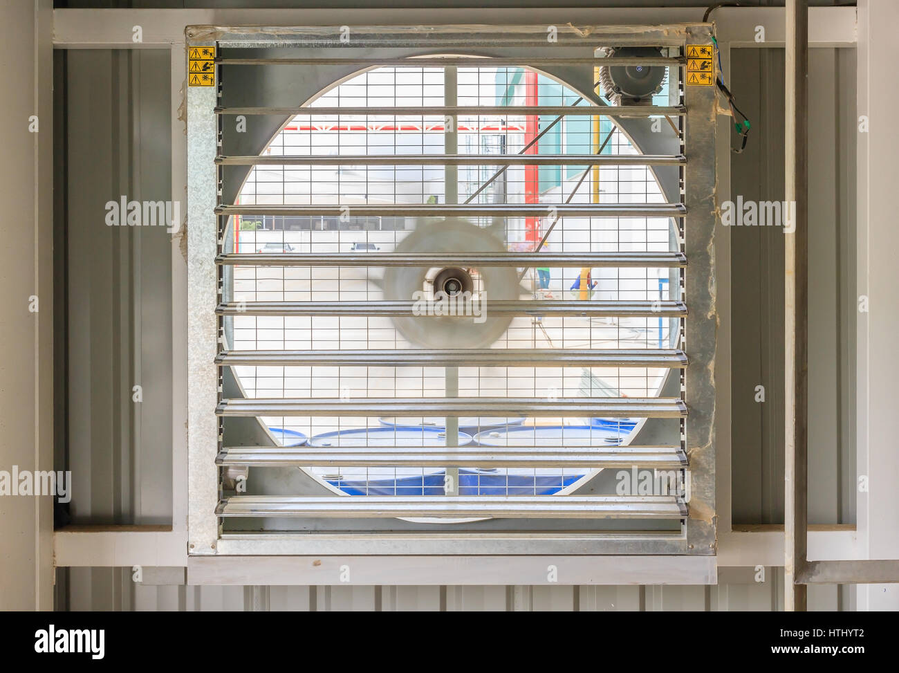 https www alamy com stock photo steel fan on steel structure for industrial ventilation system and 135619346 html