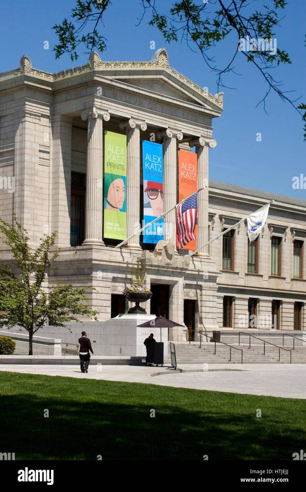 Boston Museum Of Fine Art Stock & - Alamy