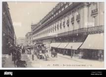 Hotel Scribe Paris France Stock &