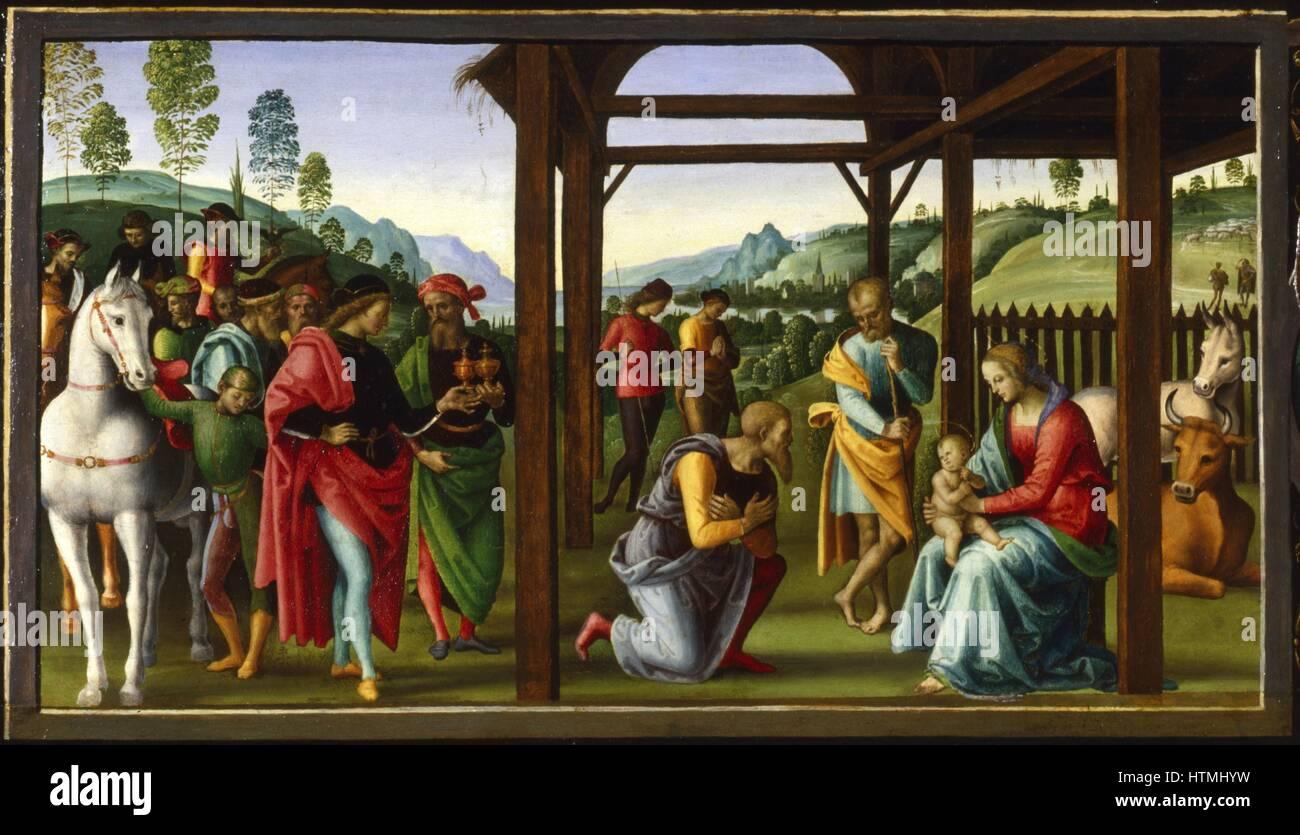 PERUGINO Pietro Vannucci Italian Painter C1450 1523 The