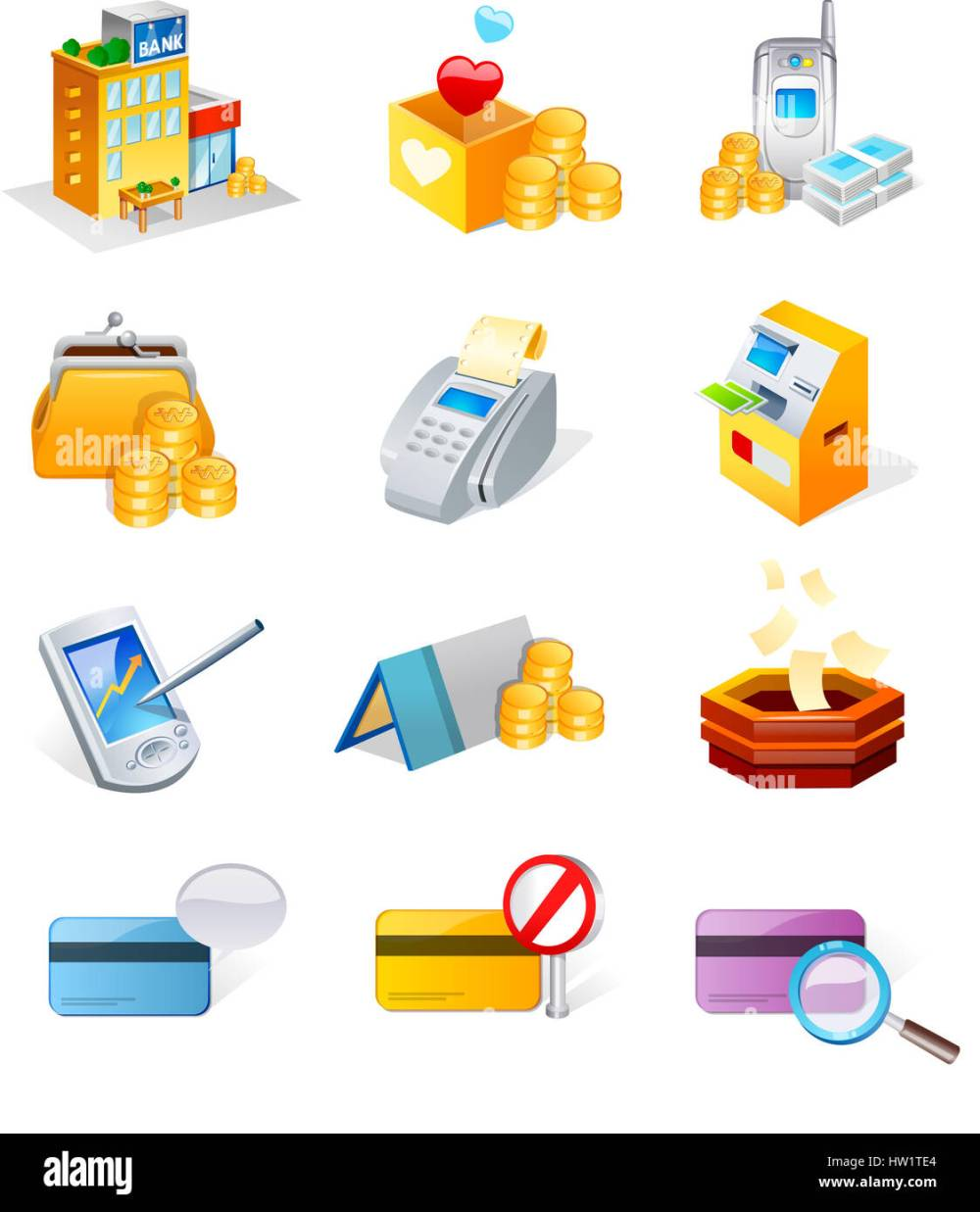 medium resolution of adding machine tape atm bank bank book box clip art clipart coin color colour color image communication computer graphics computer icon connection credit