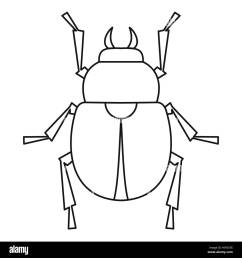 egyptian scarab beetle stock photos u0026 egyptian scarab beetle stockscarab beetle icon outline style [ 1300 x 1390 Pixel ]