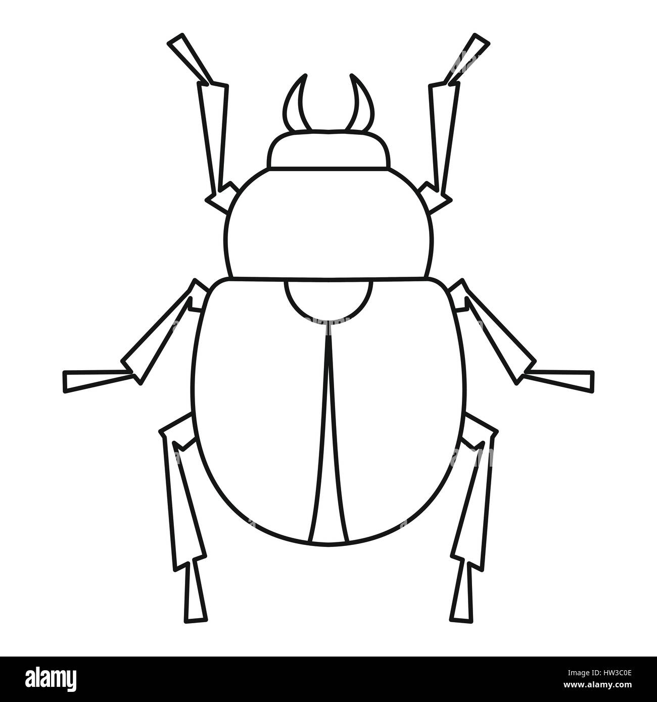 hight resolution of egyptian scarab beetle stock photos u0026 egyptian scarab beetle stockscarab beetle icon outline style