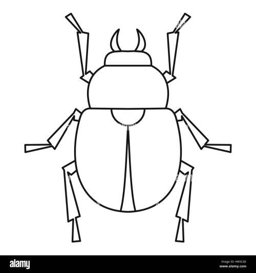 small resolution of egyptian scarab beetle stock photos u0026 egyptian scarab beetle stockscarab beetle icon outline style