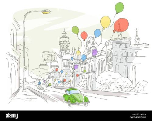 small resolution of architecture balloon building exterior building structure car city location clipart clock tower color colour color image computer graphics day digitally