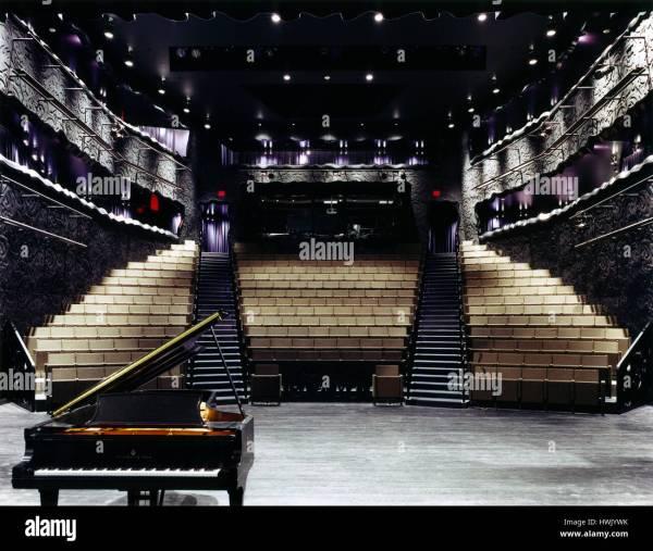 Interior Of Theatre Stage. Walker Art Center