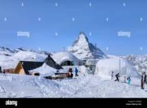 Matterhorn Zermatt Switzerland Village