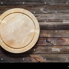 Round Wooden Kitchen Table Faucet Sets Old Cutting Board, Pizza Board On ...