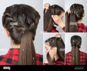 simple twisted hairstyle tutorial