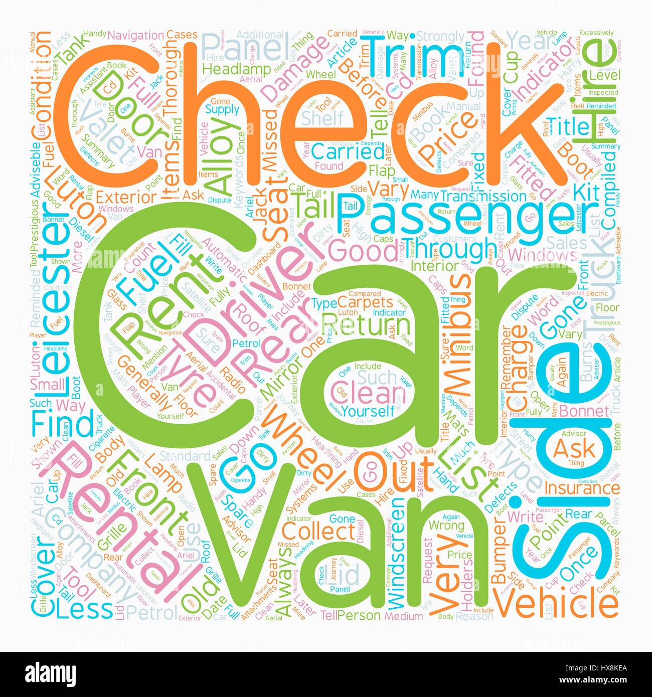 Checks Carried Out By Rental Companies Text Background Wordcloud Concept -  Stock Image