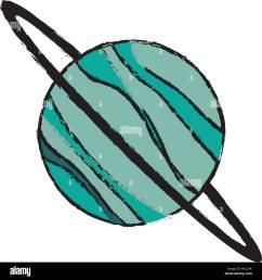 planet uranus astronomy universe icon [ 1300 x 1390 Pixel ]