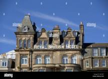 Royal British Hotel Edinburgh Stock Royalty Free