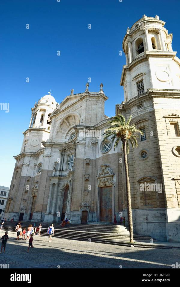 Church Cadiz Stock & - Alamy