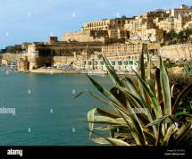 La Valletta Stock & - Alamy