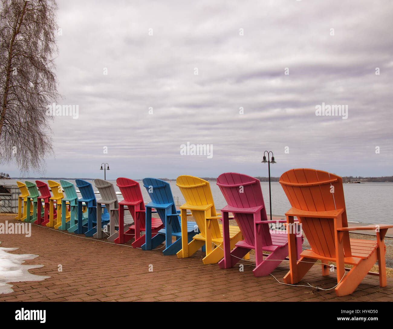 new river adirondack chairs home goods chair covers saint lawrence seaway stock photos and