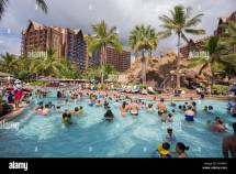 Ko'olina Oahu Hawaii - February 26 2017 Disney Aulani