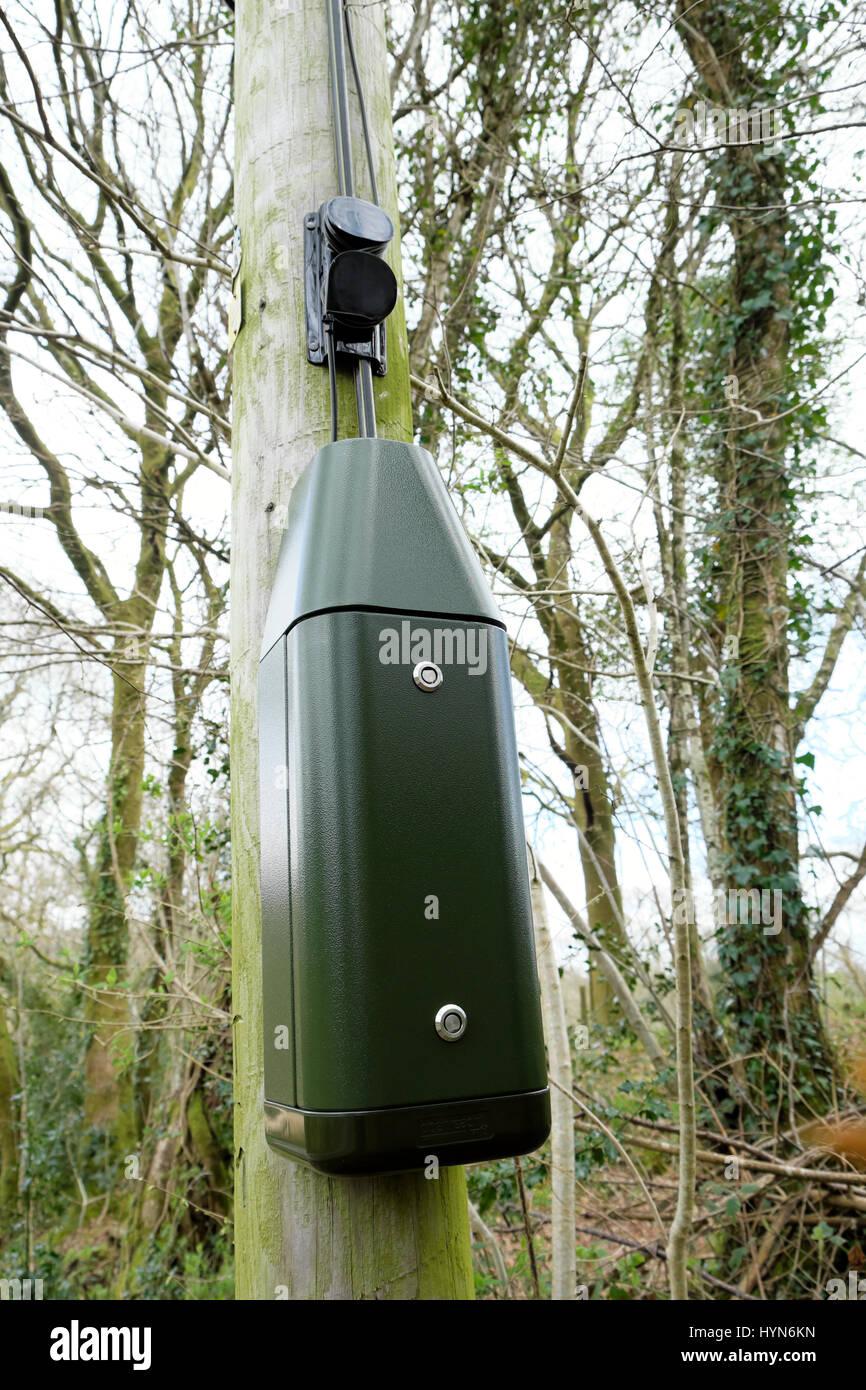 medium resolution of bt green box installed on a telegraph pole in rural uk kathy dewitt