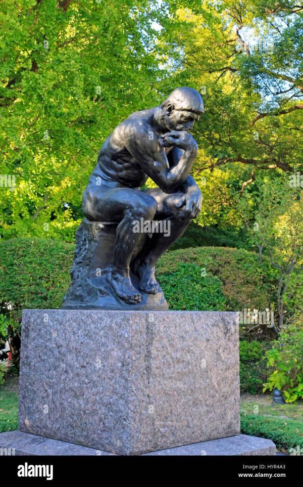"Rodin' "" Thinker"" National Museum Of Western Art"