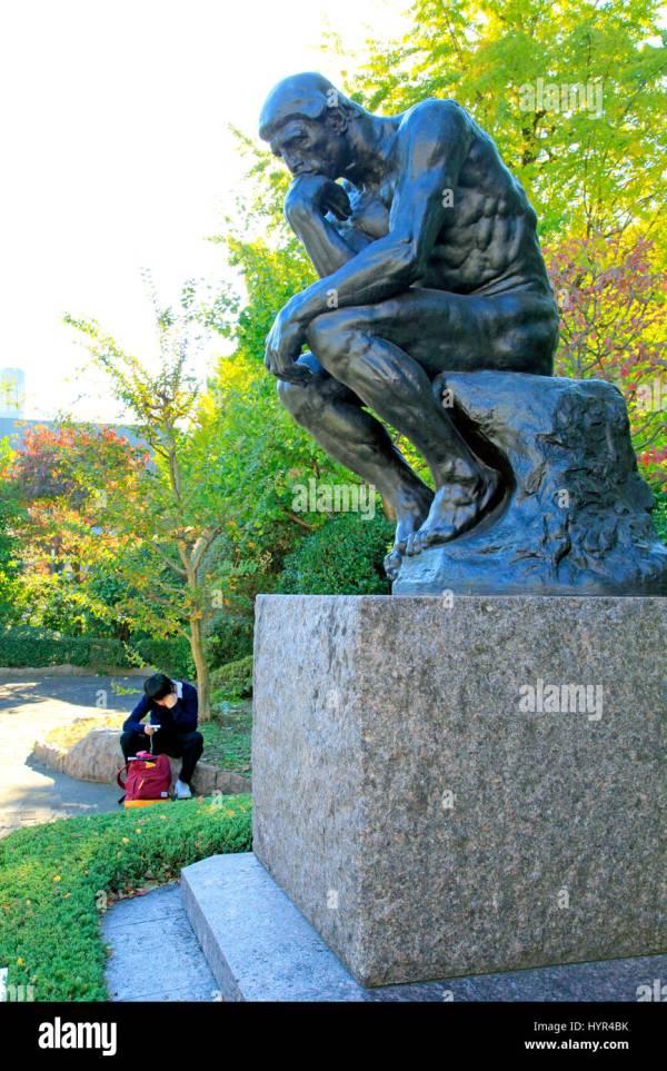 Rodins Stock & - Alamy