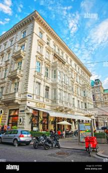 Cafe Mozart Vienna Stock &