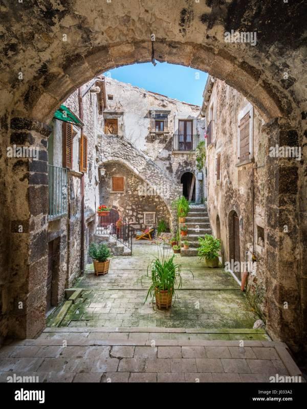 Santo Stefano di Sessanio L39Aquila Province Abruzzo