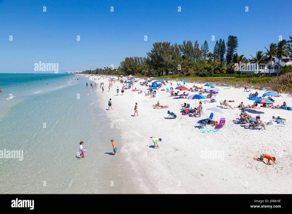 medium resolution of naples fl usa march 18 2017 beautiful white sand beach at the gulf of mexico coast in naples florida united states