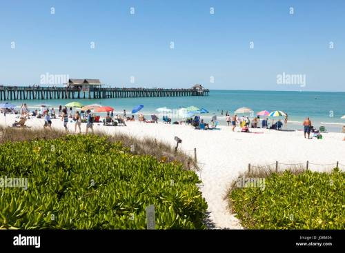 small resolution of naples fl usa march 18 2017 beautiful white sand beach at the gulf of mexico coast in naples florida united states