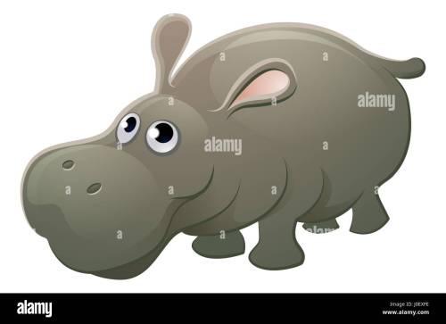small resolution of a cute hippo hippopotamus animal cartoon character mascot stock image