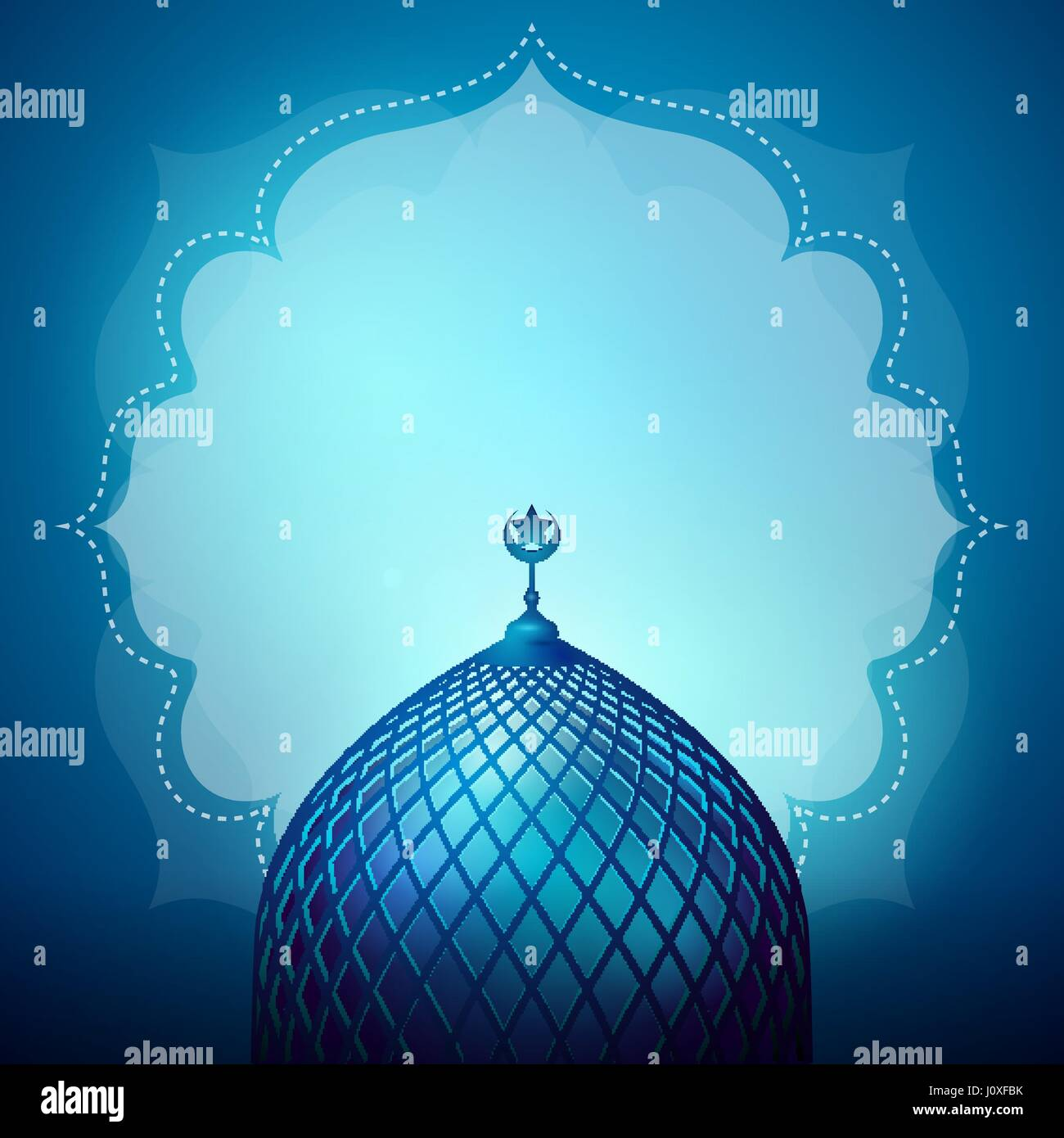 islamic design banner background
