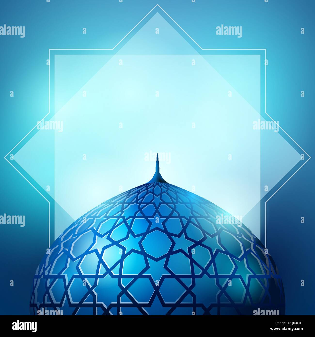 islamic design for greeting
