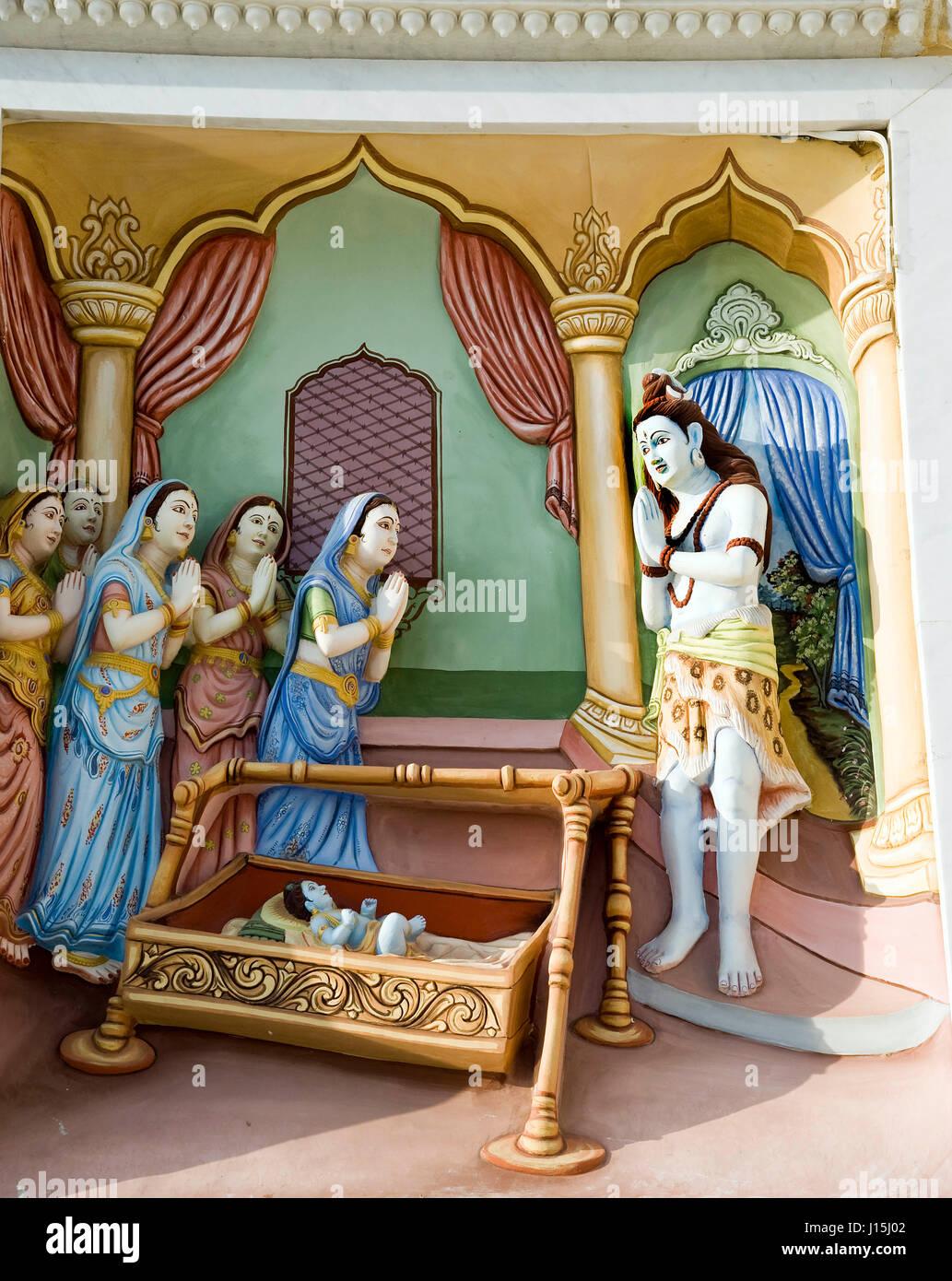 Sleeping Baby Krishna Images