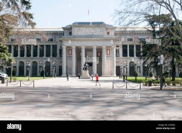 Paseo Del Prado Madrid