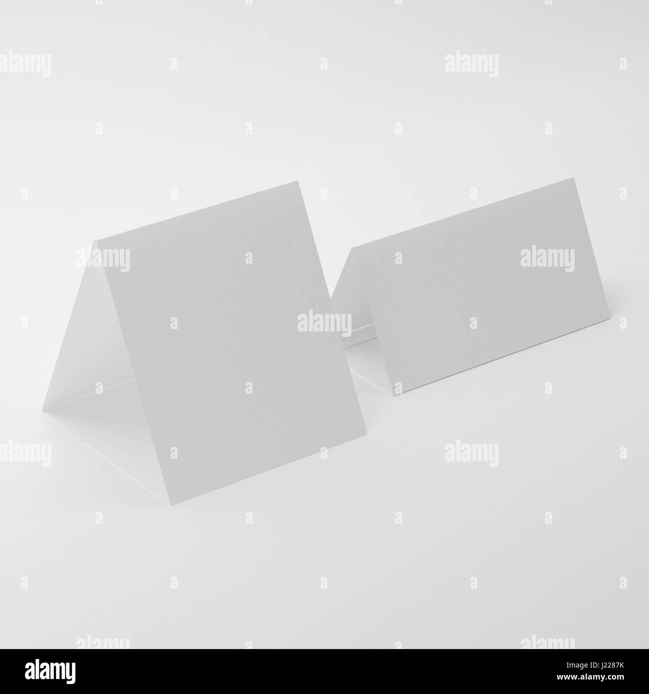 hight resolution of white blank table tent mock ups on isolated white background table tent for your design presentation