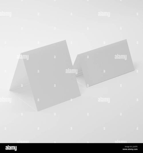 small resolution of white blank table tent mock ups on isolated white background table tent for your design presentation