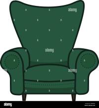 Cartoon Armchair Stock Vector Images - Alamy