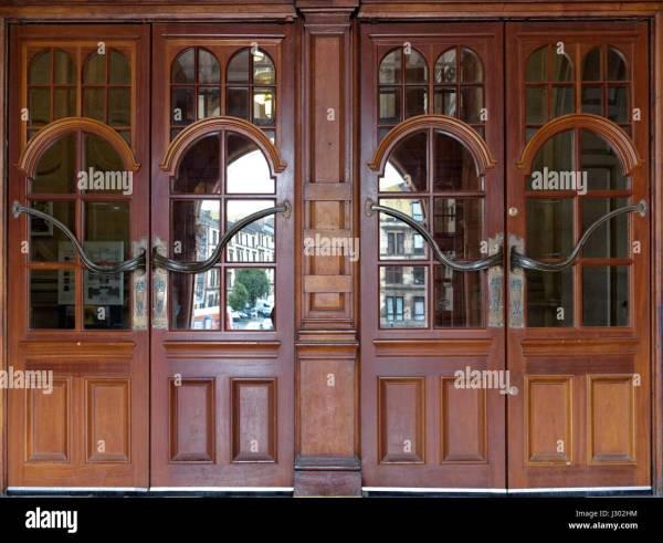 Glasgow School Of Art Interior Stock &