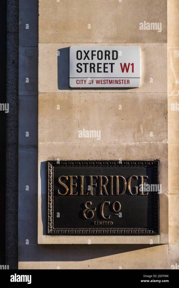 Selfridge & Sign Of Department