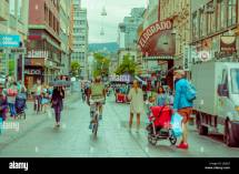 Oslo Norway - 8 July 2015 Daily Life In Torggata And